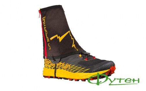 Бахилы La Sportiva WINTER RUNNING Gaiter black/yellow