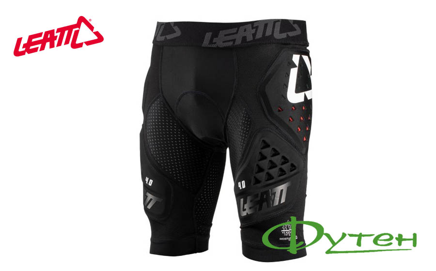 Защитные шорты LEATT Impact Shorts 3DF 4.0 Black