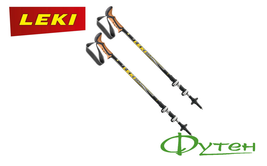 палки Leki KHUMBU SpeedLock 110-145 см