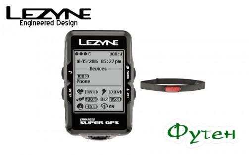 ВелокомпьютерLezyne SUPER GPS