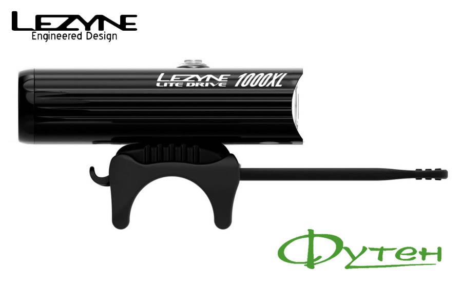 Вело ФараLezyne LITE DRIVE 1000XL черная