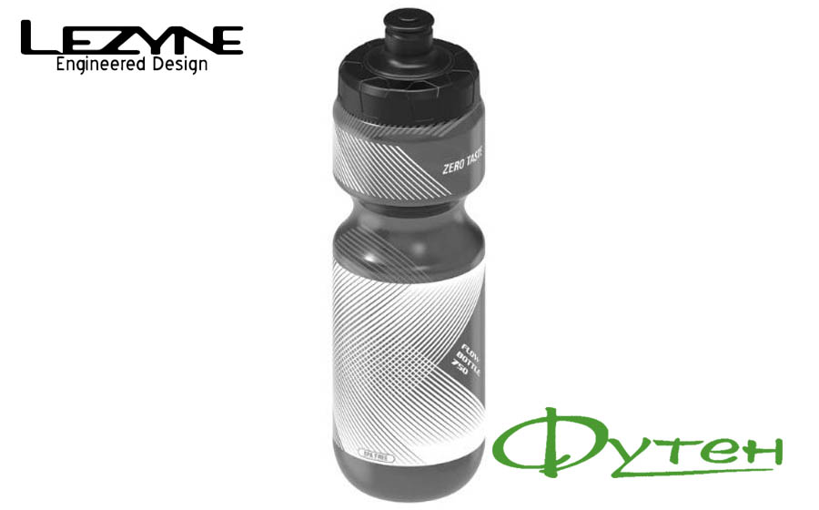 Фляга Lezyne FLOW BOTTLE 750 мл smoke grey