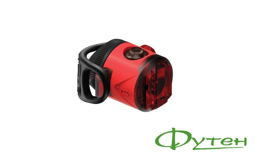 МигалкаLezyneFEMTO USB DRIVE REAR red