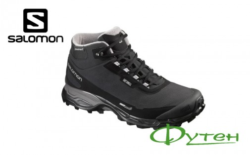 Ботинки Salomon SHELTER SPIKES CS WPblack/black/frost gray
