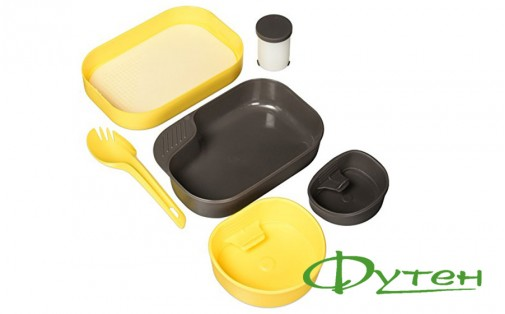 Набор посуды Wildo CAMP-A-BOX COMPLETE lemon