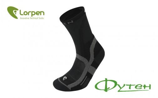 Треккинговые носки Lorpen T3LWG LIGHT HIKER grey/plum