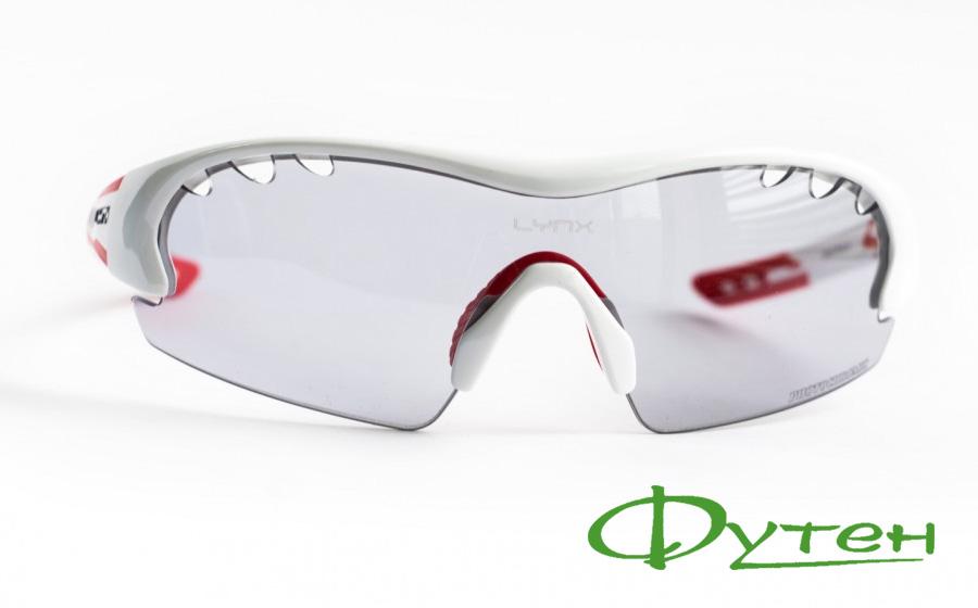 Фотохромные очки Lynx DETROIT PH Wshiny white/red