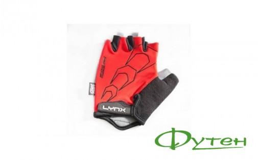 Велоперчатки Lynx RACE red