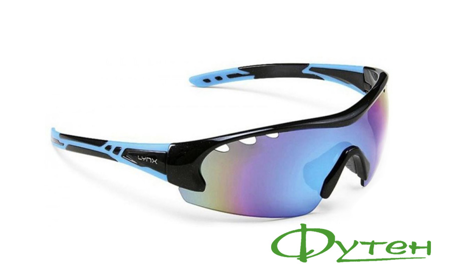 Вело очки Lynx DETROIT BB shiny metallic black