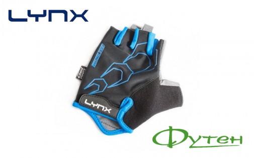 Велоперчатки Lynx RACE black/blue
