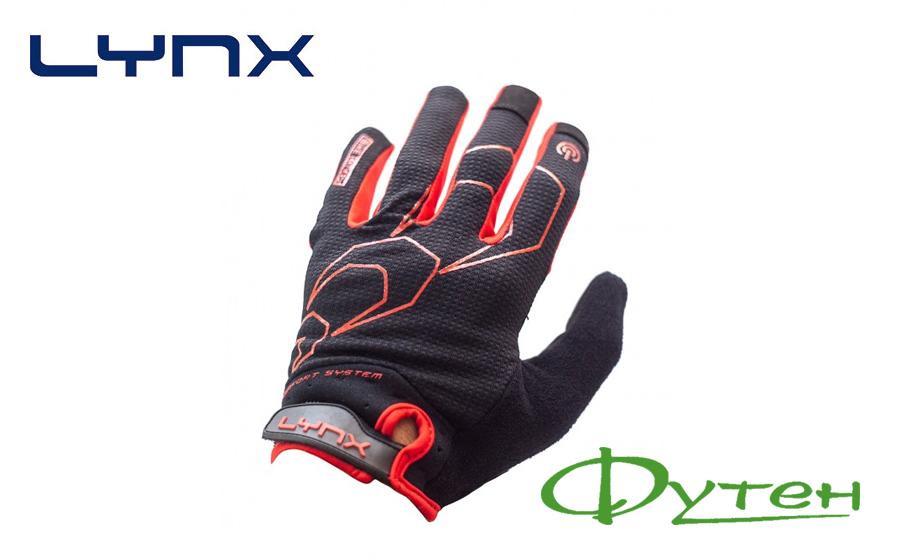 Велоперчатки Lynx ALL-MOUNTAIN black/red