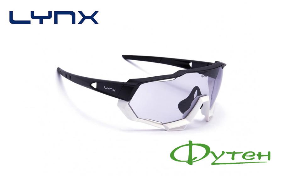 Велосипедные очки Lynx KANSAS PH BW matt black-white