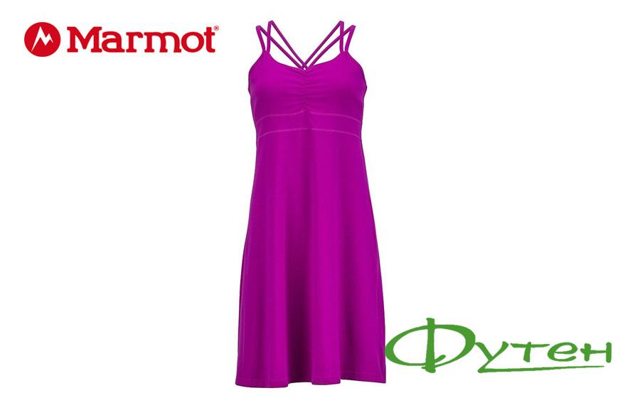 Marmot WMS GWEN DRESS vibrant fuchsia