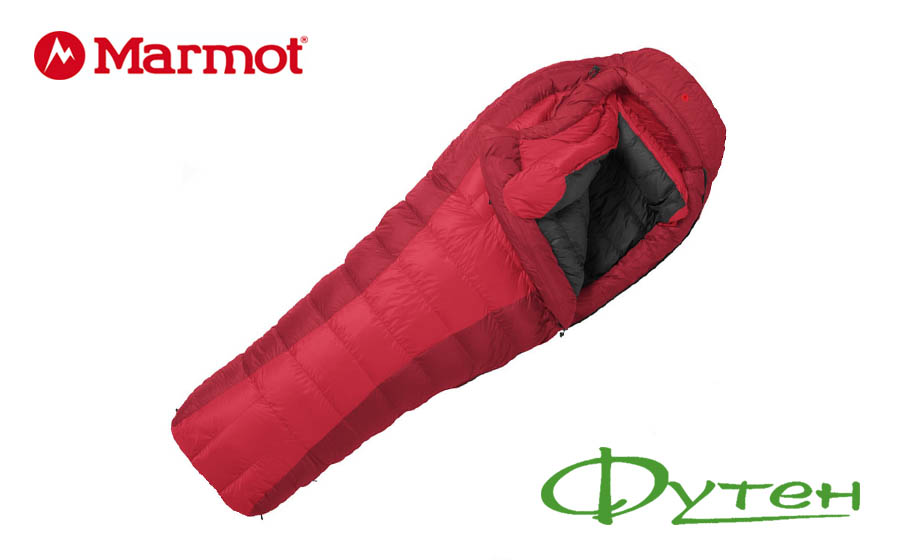 Спальный мешок Marmot CWM Membrain Regular real red/fair правый