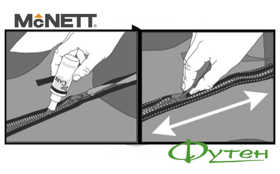 Уход за молнией McNETT ZIP CARE
