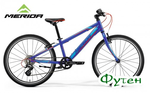 Велосипед Merida MATTS J 24 RACE blue