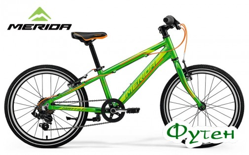 Велосипед Merida MATTS J 20 RACE green