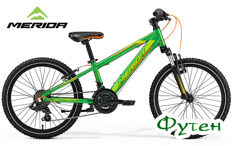 Велосипед Merida MATTS J 20 green (orange/lite green)