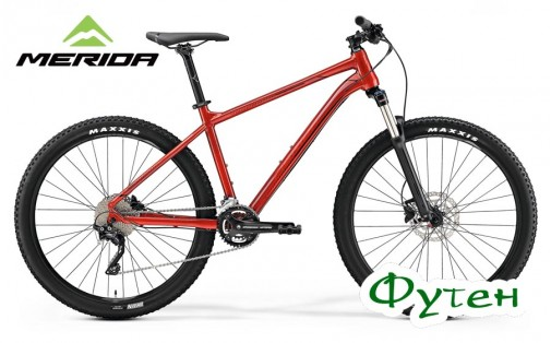 Велосипед Merida BIG.SEVEN 300 metallic red