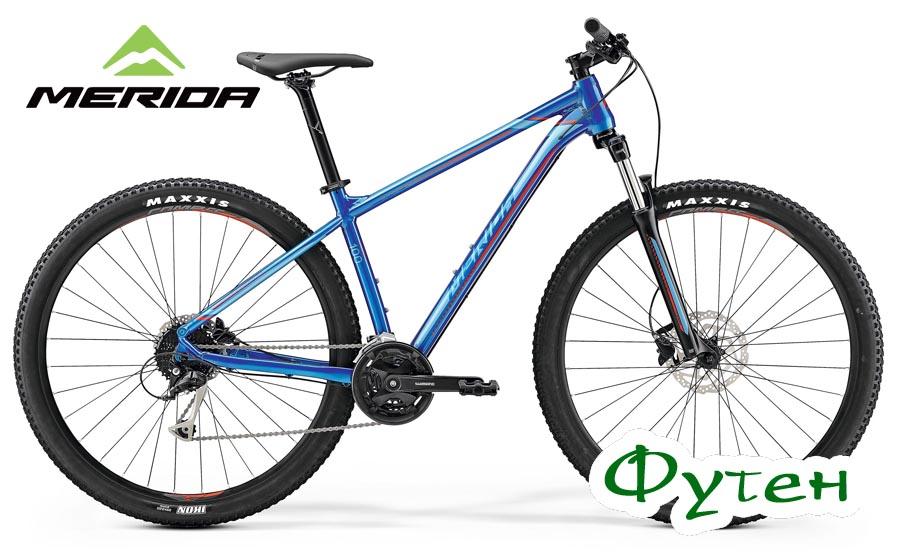 Велосипед Merida BIG.NINE 100 glossy blue