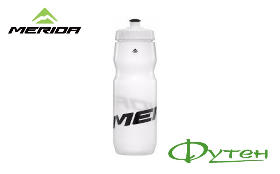Фляга Merida BOTTLE 715 мл transparent/black
