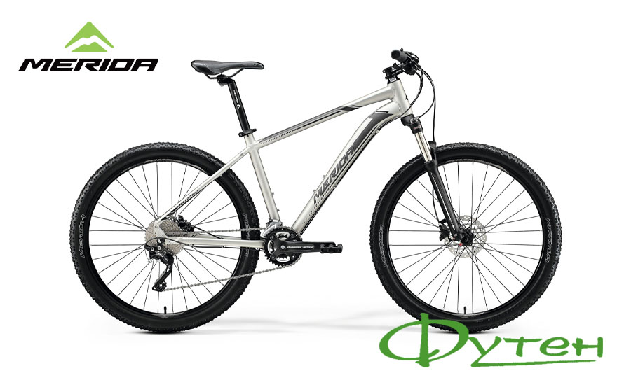 Велосипед Merida BIG.SEVEN 80 matt titan (black/silver)