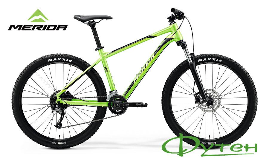 Merida BIG.SEVEN 200 glossy green