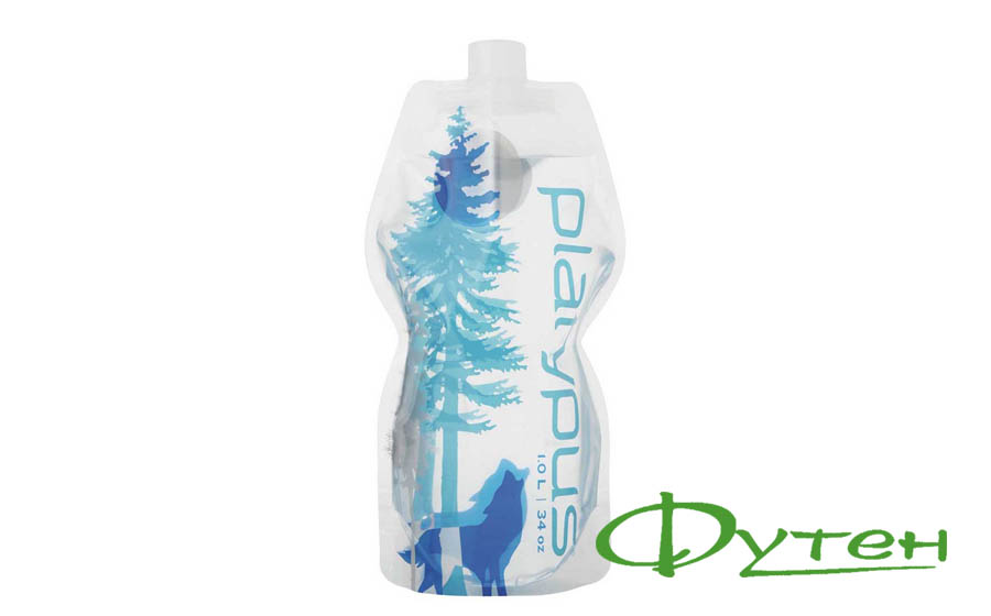 Фляга Platypus SOFTBOTTLE Cl Cap wild blue 1 л