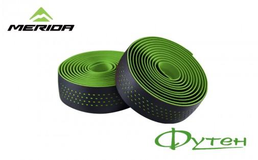 Обмотка руля Merida BARTAPE SOFT W black w green dots