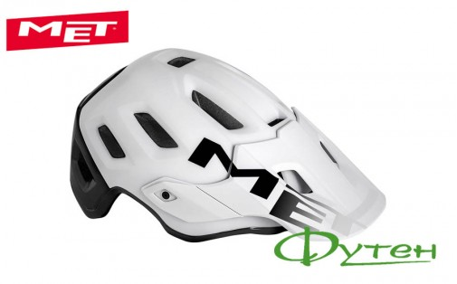 Вело шлем Met ROAM white black