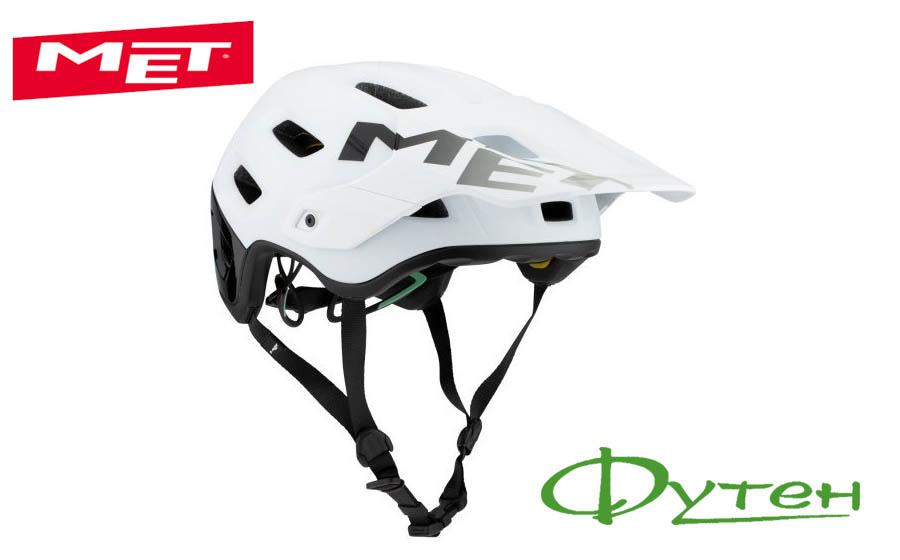 Велосипедный шлем Met ROAM white