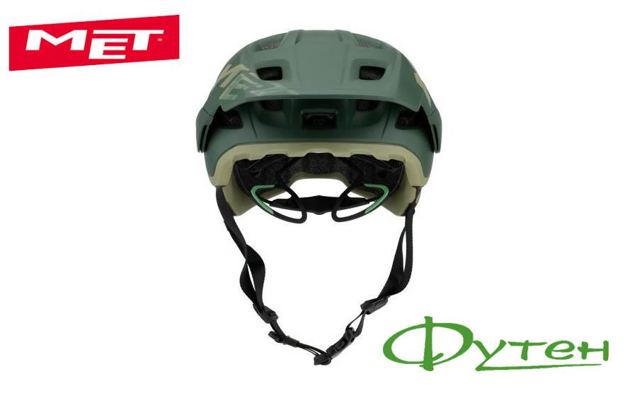 Шлем Met ROAMsherwood/matt
