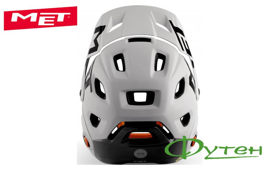 Новый шлем Met PARACHUTE MCR gray/matt