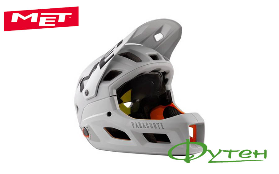 Шлем Met PARACHUTE MCR gray/matt