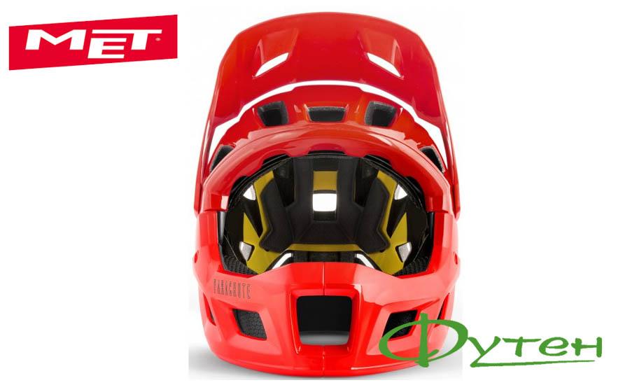 Вело шлем Met PARACHUTE MCRred/glossy