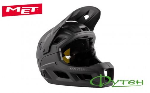 Вело шлемMet PARACHUTE MCRblackblack/matt