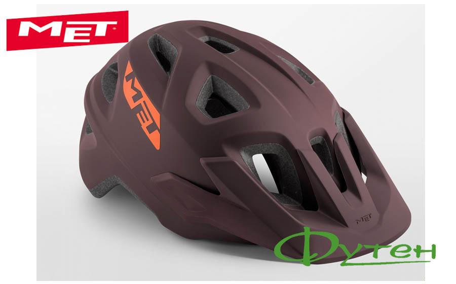 Шлем Met ECHO burgundy/matt