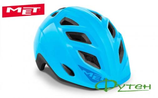 шлемMet ELFOcyan/glossy
