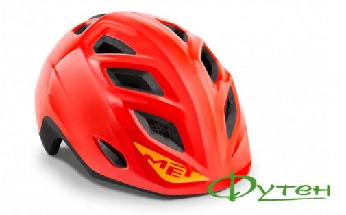 Велошлем Met GENIO red/glossy