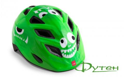 Дитячий велошолом Met GENIO green monsters/glossy