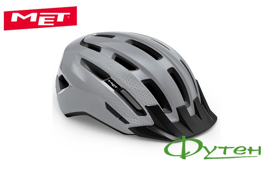 Велосипедный шлем Met DOWNTOWN gray/glossy