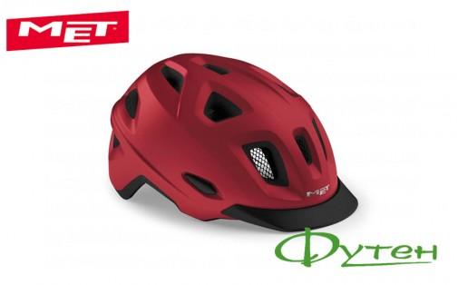 Шлем Met MOBILITE red/matt