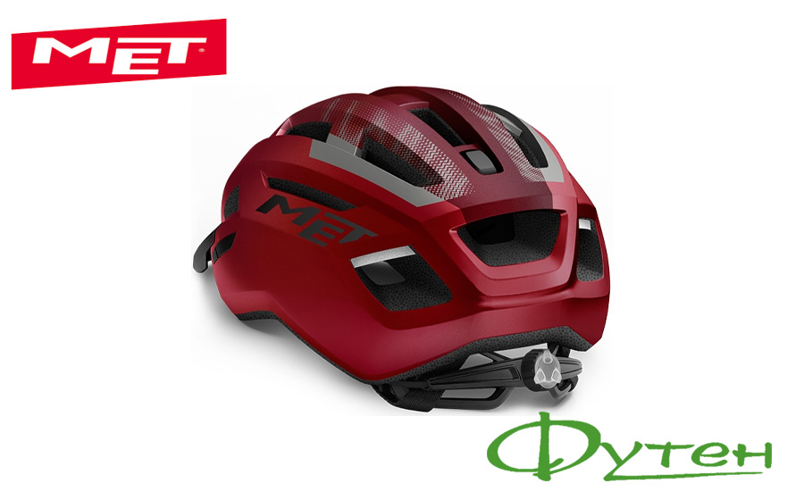 Велосипедный шлем Met ALLROAD red black/matt