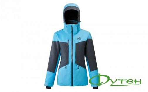 Лыжная куртка Millet ROLDAL JKT W light blue/orion blue