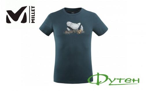 Футболка Millet BOULDER DREAM TS SS M orion blue