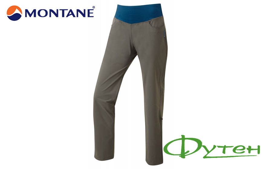 Брюки Montane CYGNUS PANTS shadow
