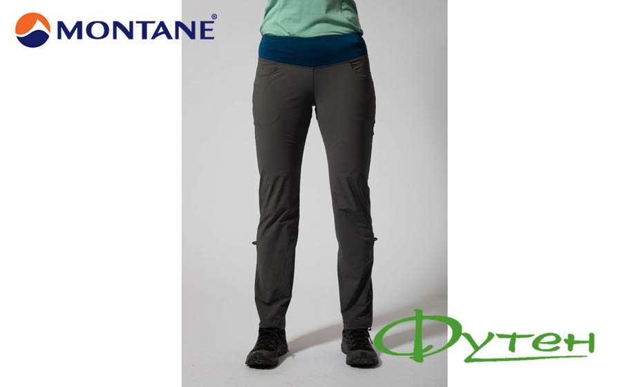 Брюки женские Montane CYGNUS PANTS shadow