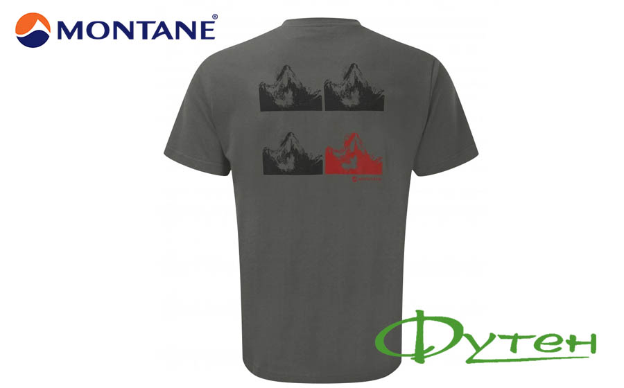 Montane AMA DABLAM T-SHIRT stratus grey