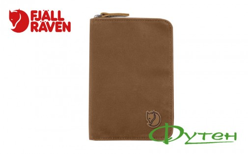 Кошелек Fjallraven PASSPORT WALLET chestnut