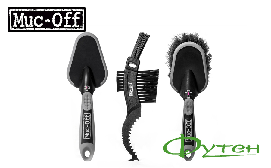 Набор щеток MUC-OFF 3x premium brush kit